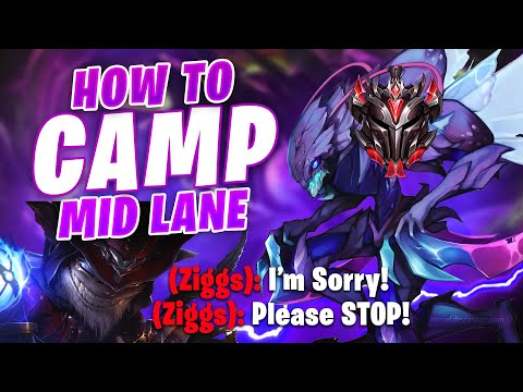 How to single-handedly make enemy mid lane lose their mental in GRANDMASTER. Full Gameplay.