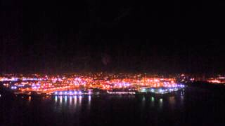 American Airlines | Night Landing in LaGuardia Airport