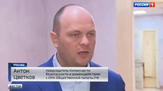 Владельцев собак могут обязать чипировать питомцев (Антон Цветков, Вести-Москва, Россия 1)