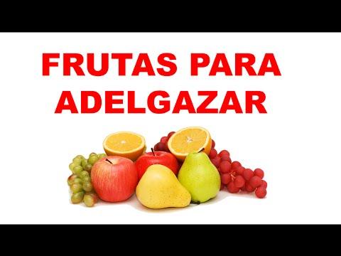 Que frutas comer para adelgazar rapido