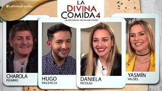 La Divina Comida | Daniela Nicolás, Charola Pizarro, Yasmín Valdés y Hugo Valencia  (1/5)