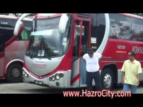Bandar Tasik Selatan Bus Terminal KL to Johor Bahru, Malaysia