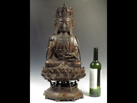 Chinese Ming Dynasty Bronze Buddha