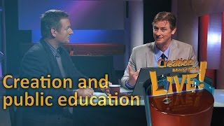Creation and public education (Creation Magazine LIVE! 3-09) by CMIcreationstation
