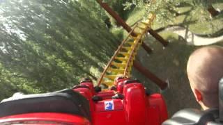 Американские горки в парке Астерикс в Париже.(Это было оччччень круто!!!, 2011-07-07T18:25:16.000Z)