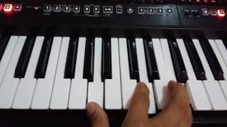 En alta voz tutorial en piano de new wine