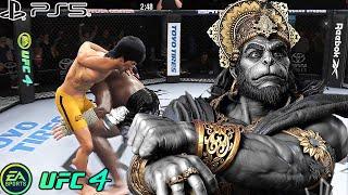 UFC 4 | Bruce Lee VS Hanuman |  PS5