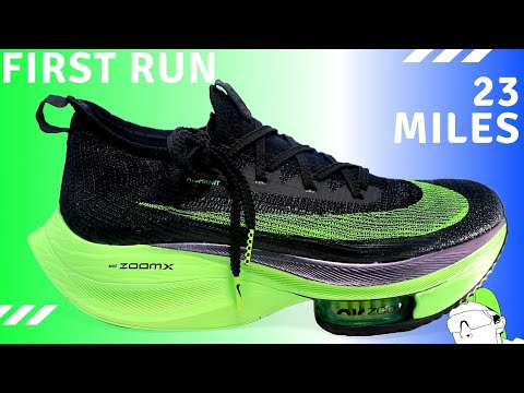nike-alphafly-next%-first-run:-23-miles-at-5:__/mile