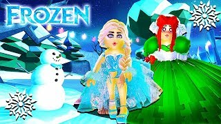 ELSA & ANNA ❄ A FROZEN STORY ❄ Roblox Movie | Royale High School | Roblox Roleplay