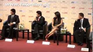 Shah Rukh Khan spricht Deutsch