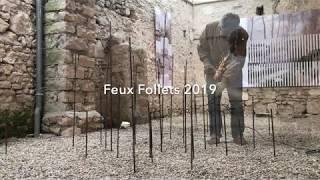 Installation de la série Feux Follets 2109