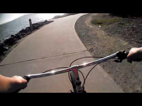 Bike Ride Using Smartphone Video Chest Mount Velocity CIip