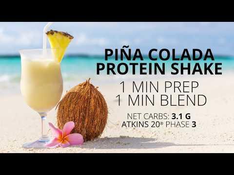 Piña Colada Protein Shake
