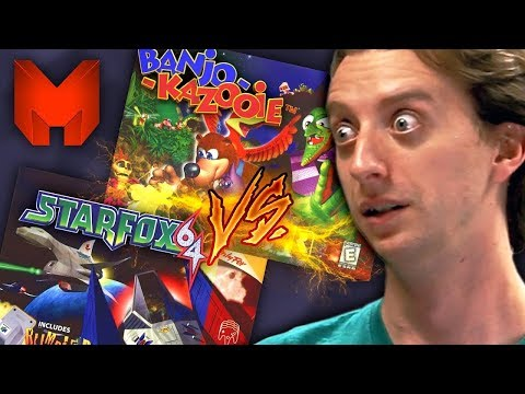 The BEST N64 Games? Banjo Kazooie vs Star Fox 64 - Madness
