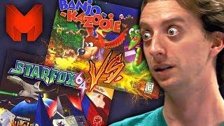 The BEST N64 Games? Banjo Kazooie vs Star Fox 64 - Madness