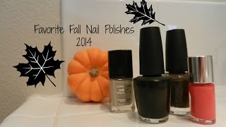 Favorite Fall Nail Polishes 2014 || Fierce Fall Series Thumbnail