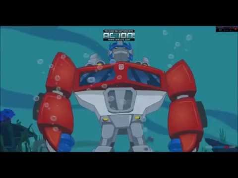 Transformers Rescue Bots: Odd Bot Out .  The Mission Of Optimus And Blades