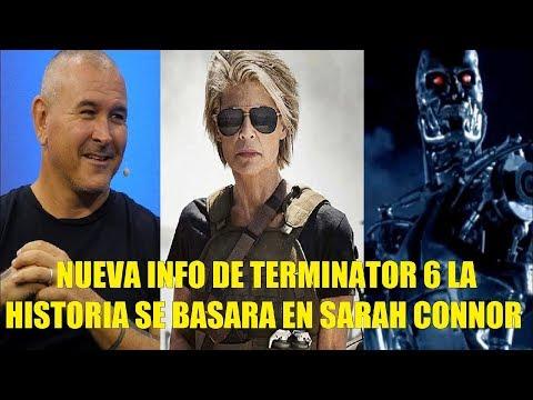 Nueva Info de Terminator 6 Dark Fate La Historia se Basara en Sarah Connor Mas Detalles