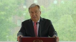 UN Chief on Climate Change and his vision for the 2019 Climate Change Summit