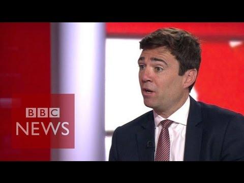 Corbyn attacks 'misread mood of party' says Andy Burnham - BBC News