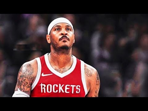 Carmelo Anthony Joins Rockets But James Harden Wants Him To Leave (Parody)