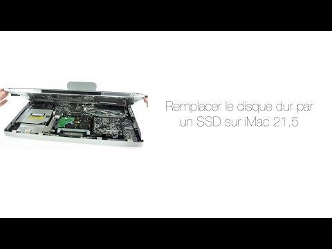 Tuto: Remplacer le disque dur par un SSD sur iMac 21,5 2011/2010/2009