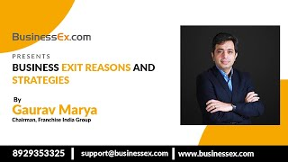 Episode 21- Business Exit Reasons and Strategies