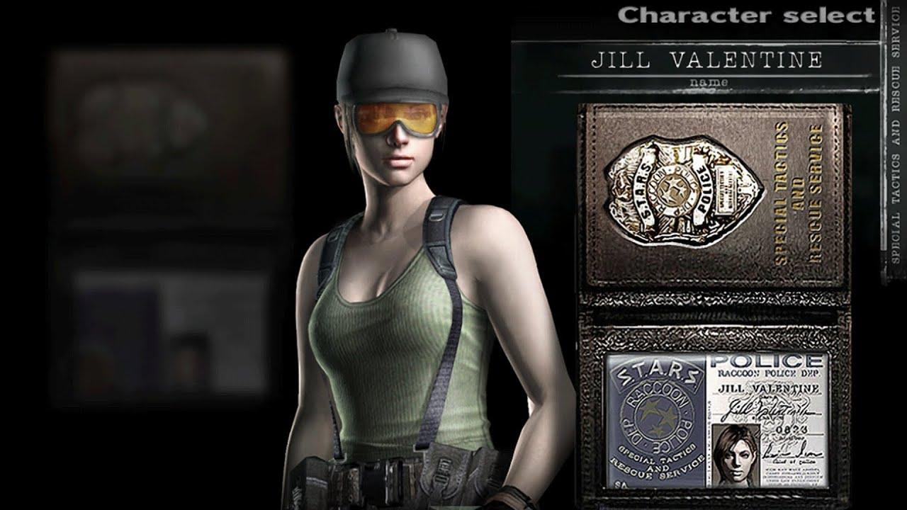 Jill Valentine Civilian Outfit Re3 Nemesis Skin Resident