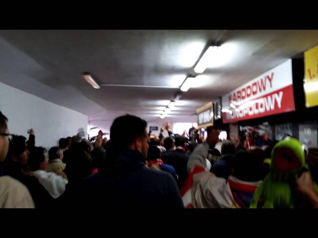 Sevilla fans europa league final warsaw