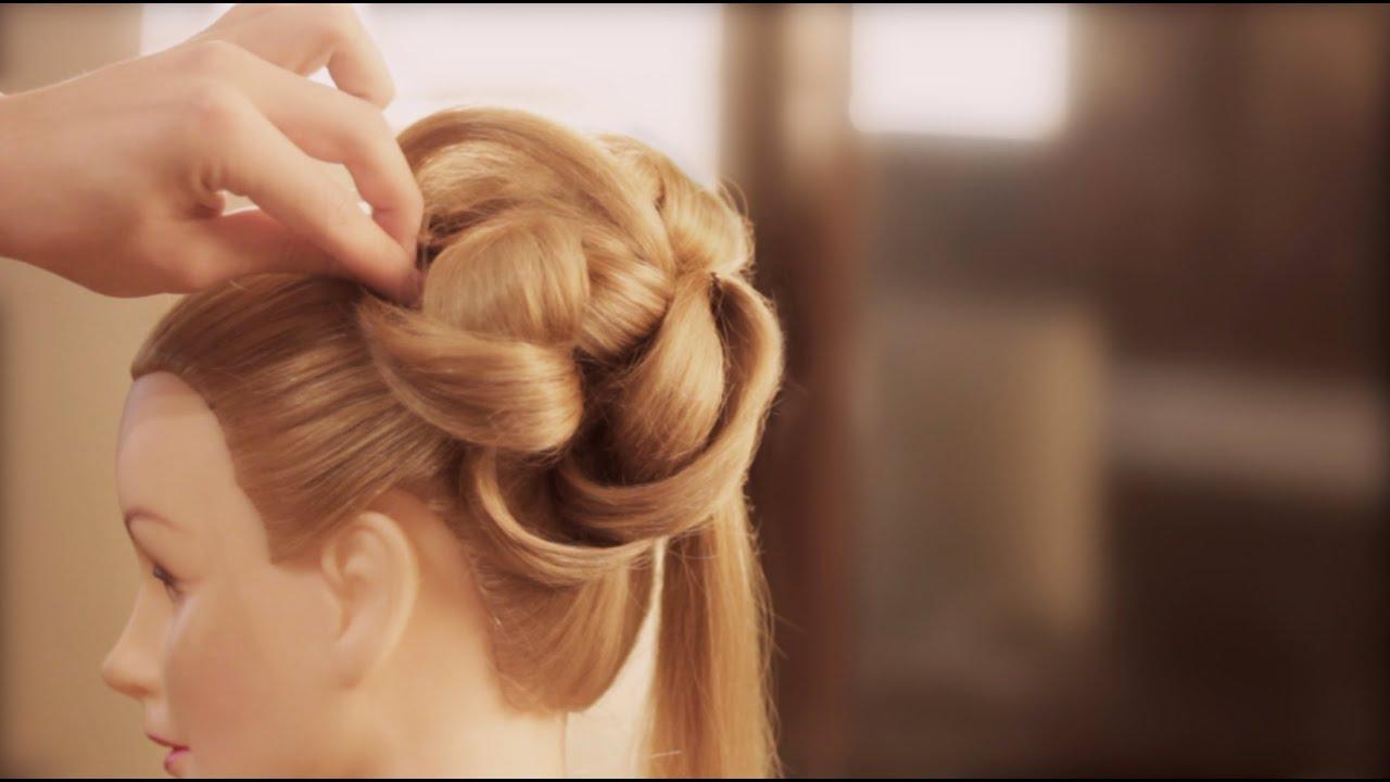Easy Wedding Upstyle With Elegant Curls - YouTube
