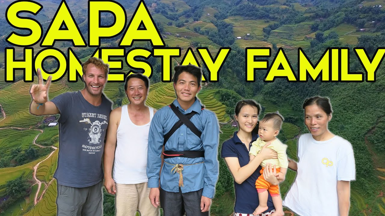 STAYING WITH A HOMESTAY FAMILY IN SAPA – VLOGGING IN VIETNAM