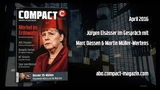 COMPACT 4/2016: Merkel im Erdowahn