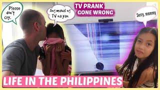KATHLEEN BROKE THE TV!! (Mommy Cried)