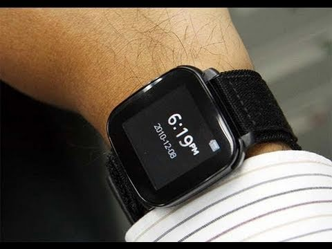 Sony Ericsson LiveView Android Watch Hands-On