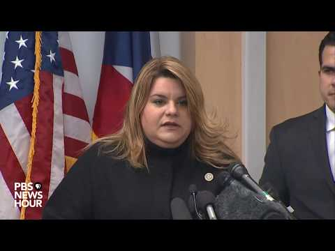 WATCH: Puerto Rico Gov. Rosselló, Congresswoman González provide update on Hurricane Maria recovery