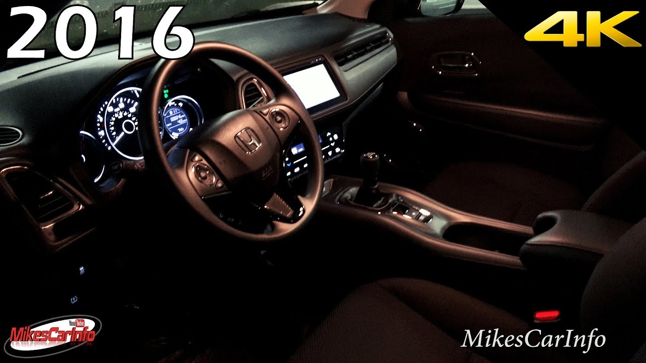 maxresdefault 2016 honda hr v at night interior and exterior hrv youtube  at reclaimingppi.co