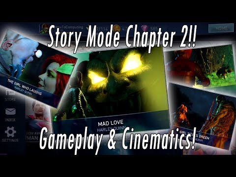 NEW Story Mode Chapter 2 – All Battles & Cinematics – Swamp Thing, Joker & Ivy – Injustice 2 Mobile