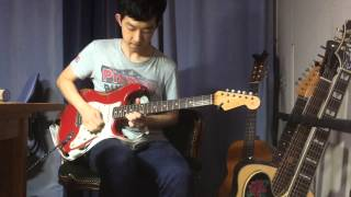 Eric Clapton - Love don't love nobody guitar solo cover