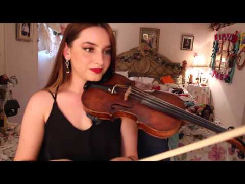 HOW TO PLAY VIVA LA VIDA ON VIOLIN!! EASY TUTORIAL - PRISCILLA MUSIC