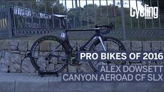 Pro bikes of 2016: Alex Dowsett's Canyon Aeroad CF SLX