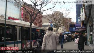 New York City - Video Tour Of A Furnished Apartment On West 132nd Street (harlem, Manhattan)