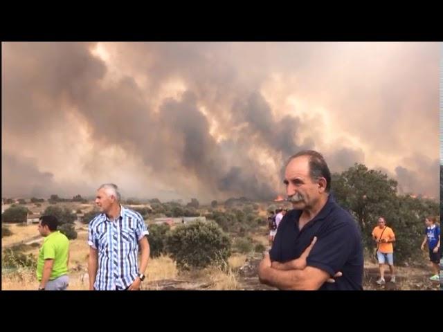 Incendio Fermoselle 26-agosto-2017
