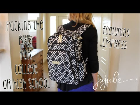 285a92a57cc7 JuJuBe  Empress BRB (Be Right Back) Backpack packed for a College or High  School student