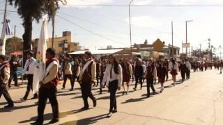 9 de Julio, desfile Cívico Gaucho en Palpalá