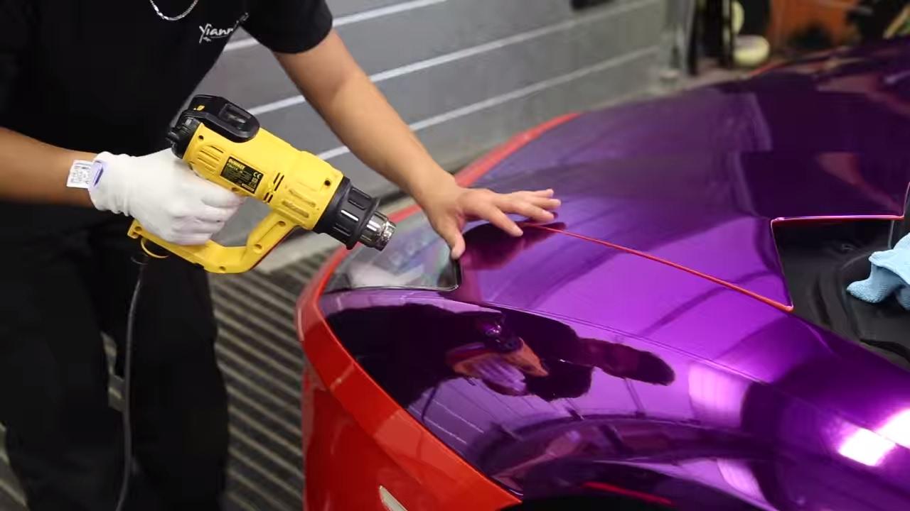 Ksi S Purple Lamborghini Wrapped Part 1 Youtube