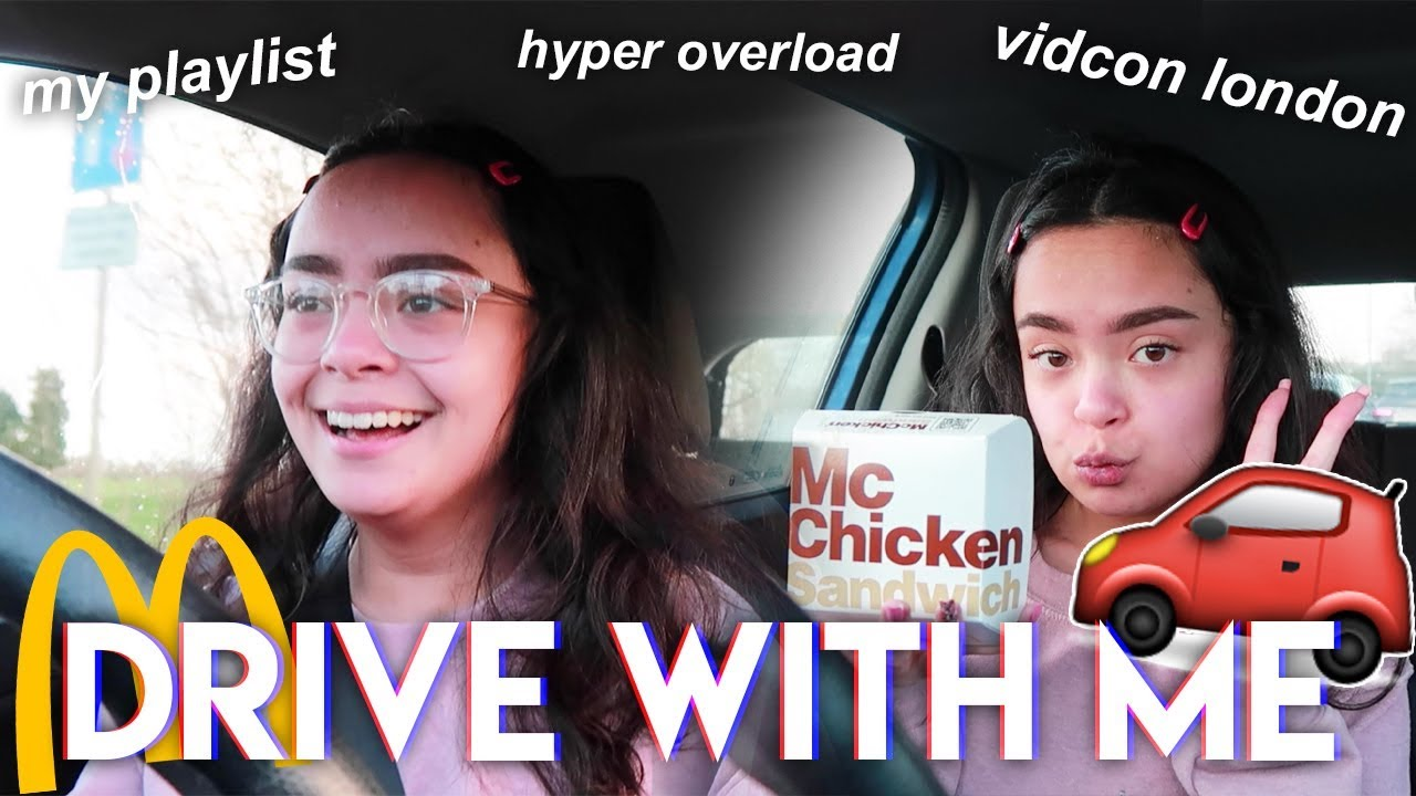DRIVE WITH ME to MCDONALDS Drive Thru 🚗🍔 - YouTube