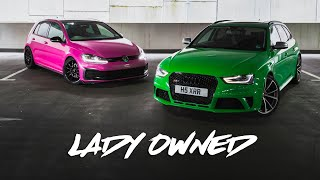 B8 Audi RS4 and MK7 VW GTI Photoshoot | 2 Careful Lady Owners
