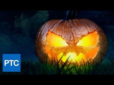 Halloween Jack-O-Lantern Pumpkin - Photoshop Tutorial