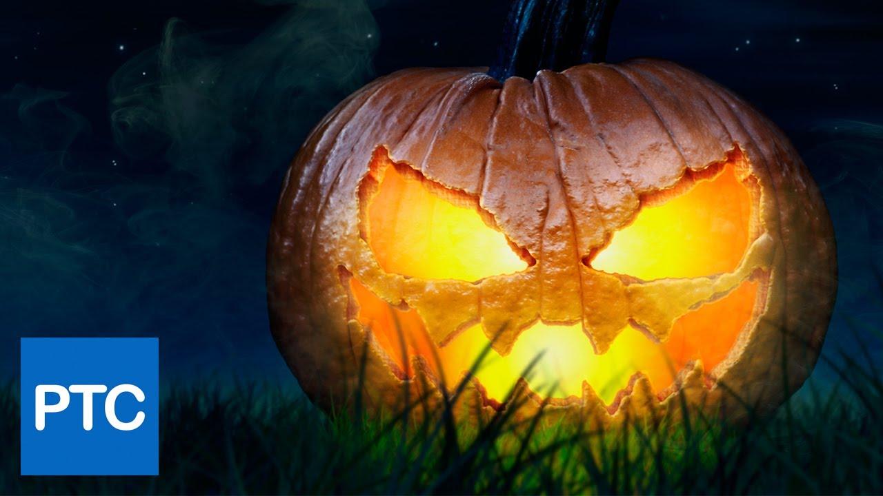Halloween jack o lantern pumpkin photoshop tutorial