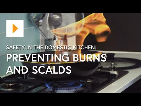 Safety In The Domestic Kitchen: Preventing Burns And Scalds